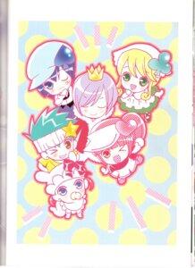 Rating: Safe Score: 1 Tags: binding_discoloration daichi kiseki miki peach-pit pepe ran shugo_chara suu User: noirblack