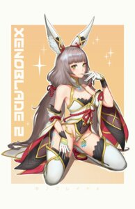 Rating: Safe Score: 28 Tags: animal_ears cleavage leotard niyah soma_(pixiv7288273) thighhighs xenoblade xenoblade_chronicles_2 User: Mr_GT