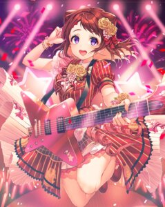 Rating: Safe Score: 11 Tags: bang_dream! dress guitar kinty toyama_kasumi User: Spidey