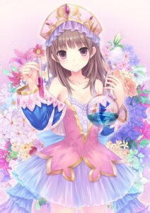 Rating: Safe Score: 97 Tags: atelier atelier_rorona atelier_totori dress n.g. see_through totooria_helmold User: blooregardo