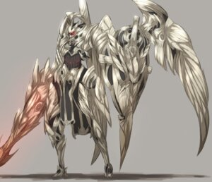 Rating: Safe Score: 28 Tags: armor monster shirogane_usagi User: Rhekshi-Ehki