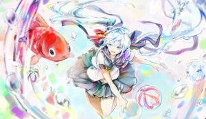 Rating: Safe Score: 12 Tags: bottle_miku eim hatsune_miku seifuku vocaloid User: dyj