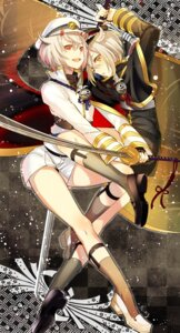 Rating: Safe Score: 26 Tags: aki663 horns hotaru_maru sword touken_ranbu uniform User: mash