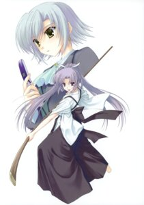 Rating: Safe Score: 9 Tags: canvas_2 japanese_clothes nanao_naru saginomiya_saya sugihara_shie User: crim