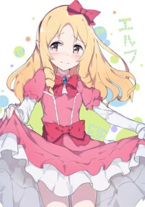 Rating: Safe Score: 32 Tags: dress eromanga-sensei lolita_fashion pantie_painting pantyhose pointy_ears skirt_lift yamada_elf User: Михайлович