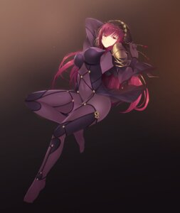 Rating: Questionable Score: 50 Tags: armor bodysuit cait erect_nipples fate/grand_order feet scathach_(fate/grand_order) thighhighs User: mash