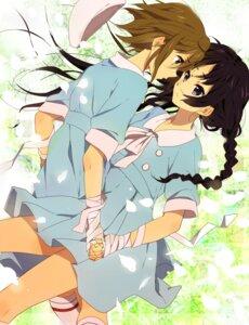 Rating: Safe Score: 46 Tags: akiyama_mio bandages karuha k-on! tainaka_ritsu yuri User: Nekotsúh