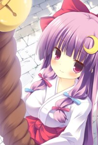 Rating: Safe Score: 37 Tags: miko patchouli_knowledge touhou yamucha User: 椎名深夏