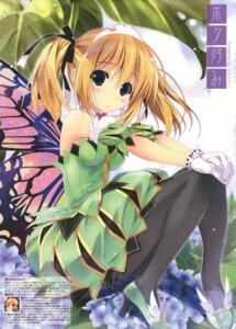 Rating: Questionable Score: 72 Tags: dress heels pantyhose shintarou wings User: Twinsenzw