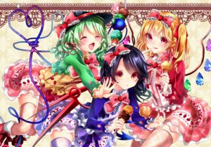 Rating: Safe Score: 22 Tags: dress flandre_scarlet houjuu_nue komeiji_koishi shanghai_bisu thighhighs touhou wings User: Mr_GT