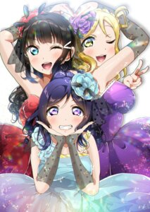 Rating: Safe Score: 14 Tags: dress kurosawa_dia love_live!_sunshine!! matsuura_kanan ohara_mari panda_copt User: saemonnokami