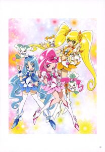 Rating: Safe Score: 6 Tags: chypre coffret dress hanasaki_tsubomi heartcatch_pretty_cure! heels kamikita_futago kurumi_erika myoudouin_itsuki potpourri_(precure) pretty_cure thighhighs User: drop