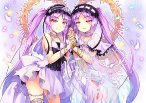 Rating: Safe Score: 53 Tags: euryale fate/grand_order fate/hollow_ataraxia fate/stay_night garter kasaran see_through stheno User: Mr_GT