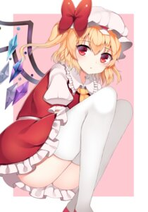 Rating: Safe Score: 43 Tags: flandre_scarlet nopan papo thighhighs touhou wings User: Mr_GT