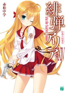 Rating: Safe Score: 39 Tags: digital_version gun hidan_no_aria kobuichi seifuku User: AltY