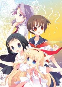 Rating: Safe Score: 22 Tags: amae_koromo ikeda_kana kajiki_yumi miyanaga_saki saki seifuku tokumi_yuiko User: fairyren