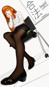 Rating: Safe Score: 51 Tags: go_robots heels pantsu thighhighs User: Mr_GT