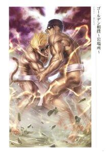 Rating: Questionable Score: 3 Tags: fate/grand_order male musashibou_benkei_(fate/grand_order) sakata_kintoki_(fate/grand_order) shin_jirou User: Radioactive