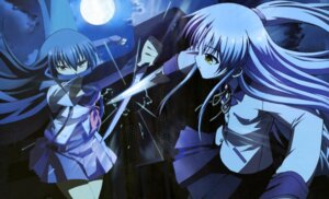 Rating: Safe Score: 25 Tags: angel_beats! detexted seifuku shiina sword tenshi User: Radioactive
