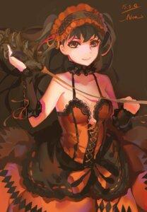 Rating: Safe Score: 21 Tags: cleavage date_a_live dress gothic_lolita lolita_fashion no_bra nora_(nora) tokisaki_kurumi User: Mr_GT