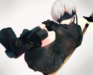 Rating: Safe Score: 8 Tags: kida_mochi male nier_automata sword yorha_no._9_type_s User: charunetra