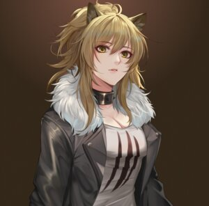 Rating: Safe Score: 37 Tags: animal_ears arknights cleavage siege_(arknights) tagme User: charunetra