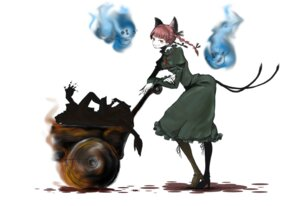 Rating: Safe Score: 8 Tags: animal_ears buroko dress kaenbyou_rin nekomimi tail touhou User: Radioactive