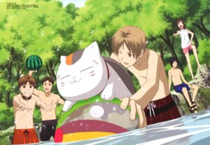 Rating: Safe Score: 8 Tags: megane natsume_yuujinchou swimsuits takata_akira User: Radioactive