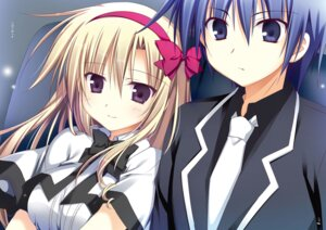 Rating: Safe Score: 6 Tags: juuoumujin_no_fafnir korie_riko seifuku tagme User: Twinsenzw