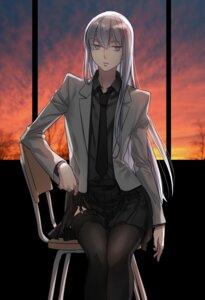 Rating: Safe Score: 22 Tags: aken genderswap kuroko_no_basket mayuzumi_chihiro seifuku stockings thighhighs User: charunetra