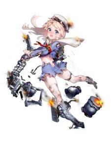 Rating: Questionable Score: 15 Tags: battleship_girl england_(battleship_girl) garter heels quuni thighhighs torn_clothes uniform weapon User: Dreista