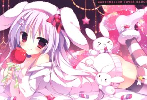 Rating: Questionable Score: 47 Tags: animal_ears apupop ass bunny_ears cleavage muku_(apupop) thighhighs User: Radioactive