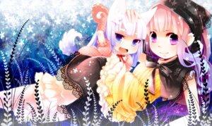 Rating: Safe Score: 19 Tags: animal_ears bloomers dress lolita_fashion nekomimi tanaka_nyan User: blooregardo
