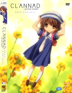 Rating: Safe Score: 9 Tags: clannad clannad_after_story disc_cover okazaki_ushio seifuku User: Velen