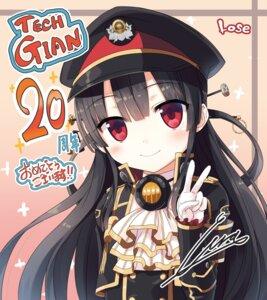 Rating: Safe Score: 14 Tags: autographed cura hachiroku lose maitetsu uniform User: Twinsenzw