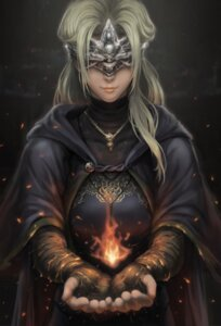 Rating: Safe Score: 34 Tags: bandages dark_souls_3 dress fire_keeper marco_poon User: Mr_GT