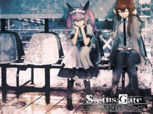 Rating: Safe Score: 39 Tags: faris_nyanyan huke maid makise_kurisu steins;gate wallpaper User: リナ