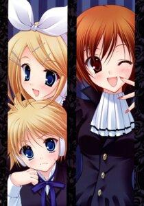 Rating: Safe Score: 16 Tags: densuke. kagamine_len kagamine_rin meiko tanihara_natsuki vocaloid User: Eruru