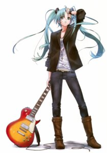 Rating: Safe Score: 27 Tags: guitar hatsune_miku nagareboshi vocaloid User: Kalafina