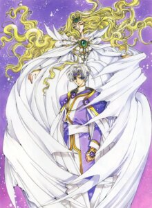 Rating: Safe Score: 7 Tags: clamp dress eagle_vision emeraude magic_knight_rayearth User: Seal