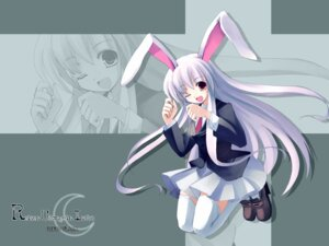 Rating: Safe Score: 12 Tags: reisen_udongein_inaba signed touhou wallpaper User: inerir