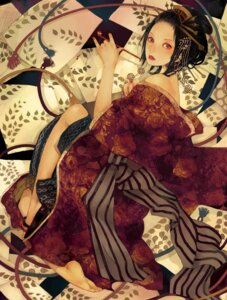 Rating: Safe Score: 10 Tags: kimono nogaruwako_adoresu User: yumichi-sama
