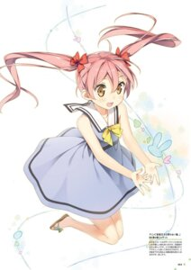 Rating: Safe Score: 31 Tags: dress emanuela_pollarola hentai_ouji_to_warawanai_neko kantoku skirt_lift User: Twinsenzw