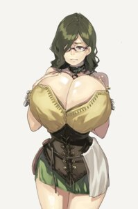 Rating: Questionable Score: 17 Tags: breast_hold cleavage megane muneneko User: blooregardo