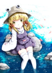 Rating: Safe Score: 15 Tags: moriya_suwako thighhighs toor_0111 touhou User: KerrigN