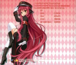 Rating: Safe Score: 38 Tags: dracu-riot! muririn thighhighs uniform yarai_miu yuzu-soft User: WtfCakes