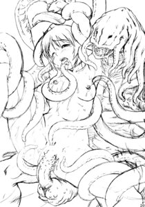 Rating: Explicit Score: 8 Tags: censored megalith_production monochrome monster naked nipples sex shinogi_a-suke tentacles User: MirrorMagpie