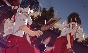 Rating: Safe Score: 16 Tags: miko shikei User: BattlequeenYume