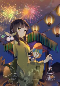 Rating: Safe Score: 23 Tags: kantai_collection kitakami_(kancolle) sheska_xue yukata User: fairyren