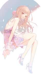 Rating: Safe Score: 49 Tags: dress heels satou_shin the_idolm@ster the_idolm@ster_cinderella_girls torano User: yanis